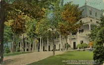 Image of Leland House, Schroon Lake, N.Y. Adirondacks Mountains. - Postcard