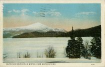 Image of Whiteface Mountain in Winter, from Whiteface Inn - Postcard
