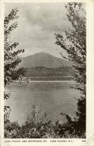 Image of Lake Placid and Whiteface Mt. Lake Placid, N.Y. - Postcard