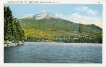 Image of View of Whiteface Mountain, Lake Placid, N.Y. - Postcard