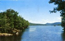 Image of Indian Lake from Lewey Lake Outlet - Postcard