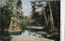 Image of Adirondack Mountains, Cold Brook - Postcard