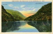 Image of Lower Ausable Lake, Keene Valley, In The Adirondacks, N.Y.  - Postcard