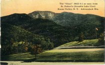 Image of The Giant (4622 ft.) as seen from St. Hubert's (Ausable Lake Club), Keene Valley, N.Y., Adirondack Mts. - Postcard