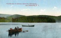 Image of Vacation Time on Schroon Lake in the Adirondacks, near Pottersville, N.Y. - Postcard
