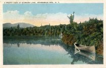 Image of A Pretty View At Schroon Lake, Adirondack Mts., N.Y. - Postcard