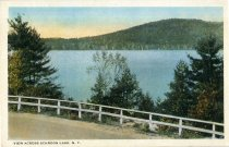Image of View Across Schroon Lake, N.Y. - Postcard