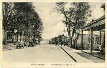 Image of Main Street, Schroon Lake, N.Y. - Postcard