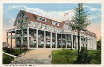 Image of Leland House, Schroon Lake, N.Y. - Postcard