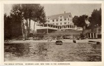 Image of The Bogle Cottage, Schroon Lake, New York in the Adirondacks - Postcard