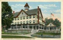 Image of Watch Rock Hotel, Adirondack, N.Y., On-Schroon-Lake - Postcard