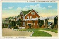 Image of Windemere Cottage Adjoining Brown Swan Club, Schroon Lake, N.Y., In The Adirondacks - Postcard