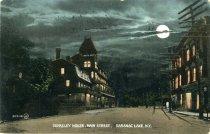 Image of Berkeley House, Main Street, Saranac Lake, N.Y. - Postcard