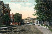 Image of Main Street, Saranac Lake, N.Y. - Postcard
