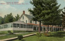 Image of Taylor's on Schroon, Schroon Lake in the Adirondack Mts., N.Y. - Postcard