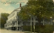 Image of The Ondawa House at Schroon Lake in the Adirondacks, N.Y. - Postcard