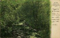 Image of Elbow Creek  Lake Pleasant, N.Y. - Postcard