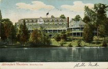 Image of Adirondack Mountains, Whiteface Inn. - Postcard