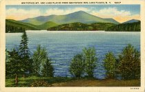 Image of Whiteface Mt. and Lake Placid from Whiteface Inn, Lake Placid, N.Y. - Postcard