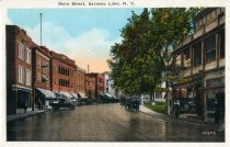 Image of Main Street, Saranac Lake, Adirondacks, N.Y. - Postcard