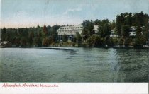 Image of Adirondack Mountains, Whiteface Inn - Postcard