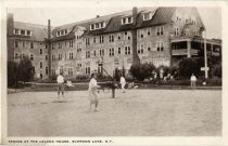 Image of Tennis At The Leland House, Schroon Lake, N.Y. - Postcard