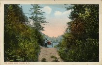 Image of The Carry, Lake Placid, N.Y. - Postcard