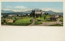 Image of Stevens House, Lake Placid, Adirondack Moutains. - Postcard