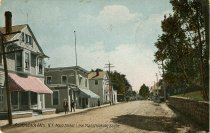 Image of Adirondack Mts., N.Y. Main Street, Lake Placid looking South - Postcard