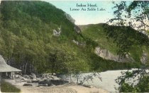 Image of Indian Head, Lower Au Sable Lake - Postcard