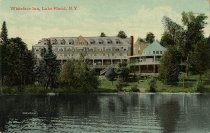 Image of Whiteface Inn, Lake Placid, N.Y. - Postcard