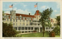 Image of Stevens House, Lake Placid, N.Y. - Postcard