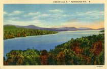 Image of Indian Lake, N.Y., Adirondack Mts. - Postcard