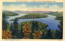 Image of This Is Lake Placid, N.Y. The Beauty Spot of the Adirondacks, As Seen From Whiteface Mt. - Postcard
