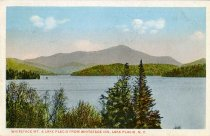 Image of Whiteface Mt. & Lake Placid From Whiteface Inn, Lake Placid, N.Y. - Postcard