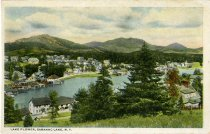 Image of Lake Flower, Saranac Lake, N.Y. - Postcard