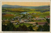 Image of Bird's Eye View of Chestertown, Adirondack Mts., N.Y. - Postcard