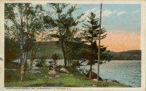 Image of Valentines on Atateka Lake, Adirondacks P.O. The Glen, N.Y. - Postcard
