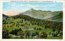 Image of Hurricane Mt. Height 3763 ft., Elizabethtown, N.Y., in the Adirondacks. - Postcard