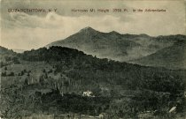 Image of Elizabethtown, N.Y. Hurricane Mt. Height 3763 Ft,  in the Adirondacks. - Postcard