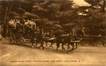 Image of Hidden Valley Ranch, America's Finest Dude Ranch, Lake Luzerne, N.Y. - Postcard