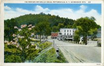 Image of The Bridges and Wells House, Pottersville, N.Y. Adirondack Mts. - Postcard