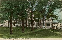 Image of Under the Maples, Pottersville, N.Y., The Adirondacks. - Postcard