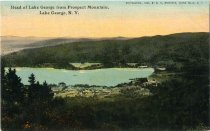 Image of Head of Lake George from Prospect Mountain, Lake George, N.Y. - Postcard