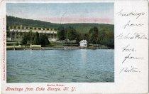 Image of Marion House, Greetings from Lake George, N.Y. - Postcard