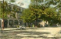 Image of Head of Lake George, N.Y. - Postcard