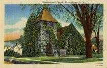 Image of Congregational Church, Elizabethtown, N.Y. - Postcard