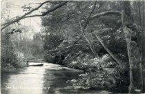 Image of Inlet, Lake Luzerne, Luzerne, N.Y. - Postcard