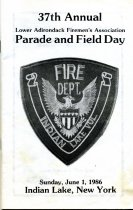 Image of 37th Annual Lower Adirondack Fireman's Association Parade and Field Day - Lower Adirondack Fireman's Association