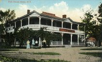 Image of Fish House Hotel, N.Y. - Postcard